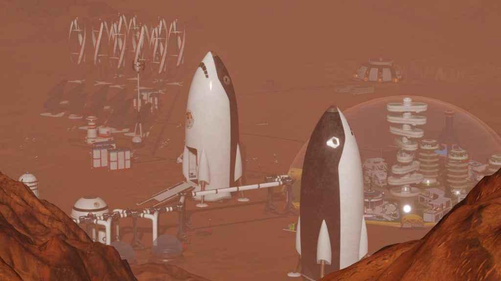 Surviving Mars Space Race DLC