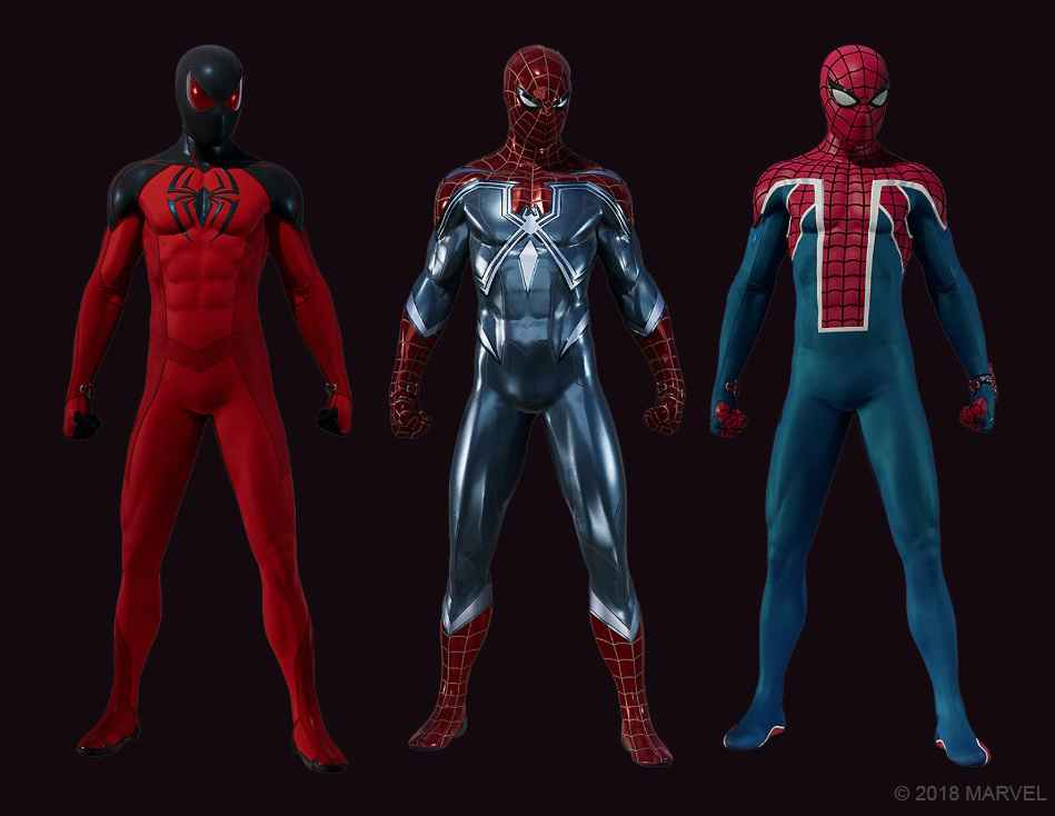 New Marvel's Spider-Man suits available on October 23.