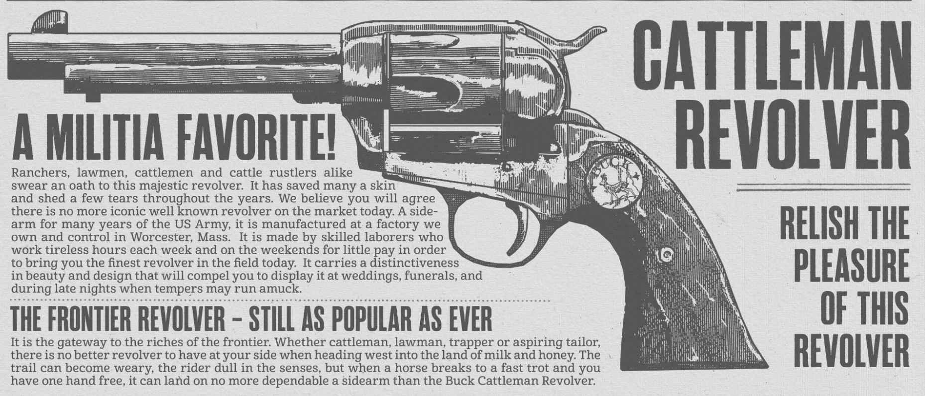 red dead redemption 2 revolver