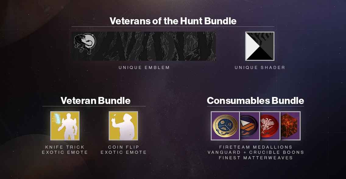 veterans of the hunt bundle