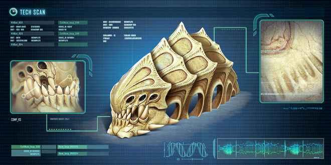 Subnautica All Leviathans - Ancient Skeleton
