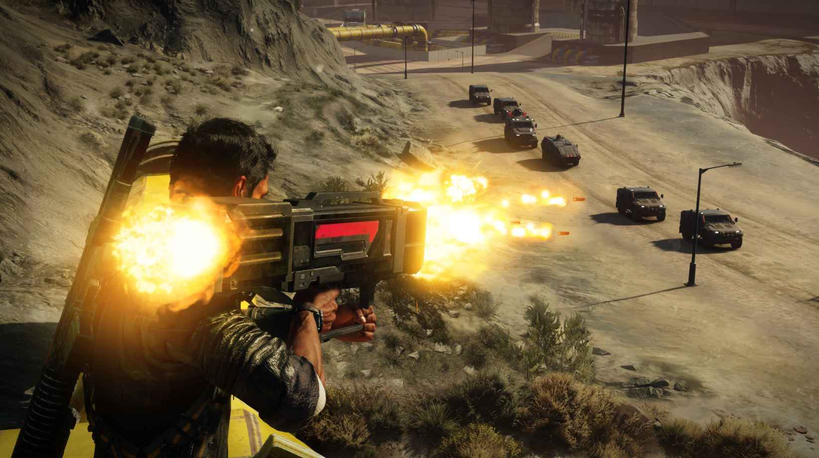 Just Cause 4 encourages experimentation beyond just shooting.
