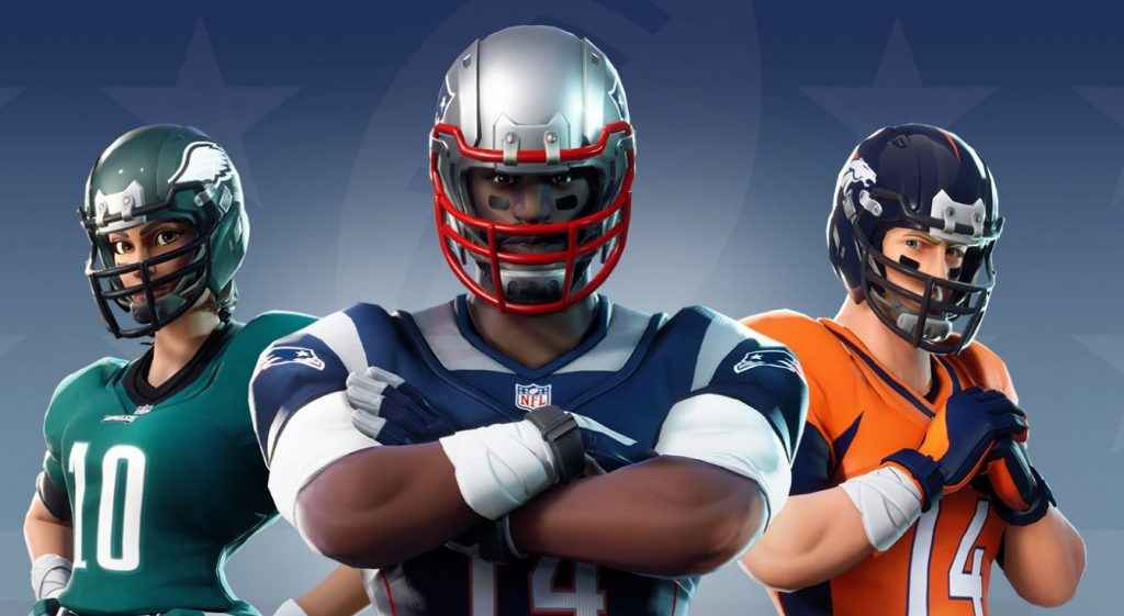 Fortnite and NFL are partnering up.