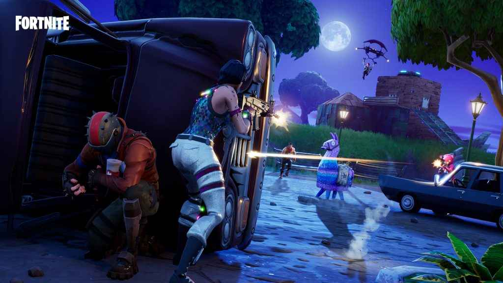 fortnite gameplay on ps4