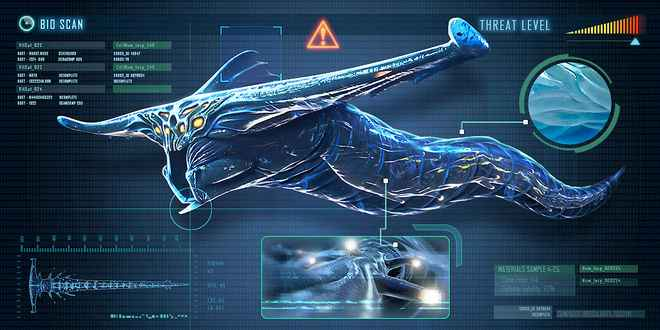 Subnautica All Leviathans - Ghost