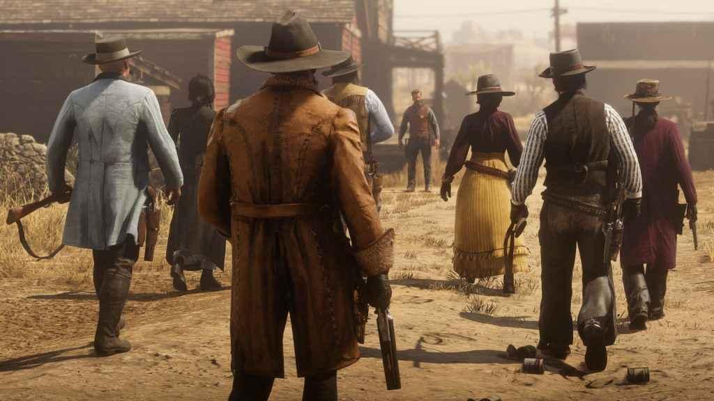 Red Dead Online Beta Progress 01