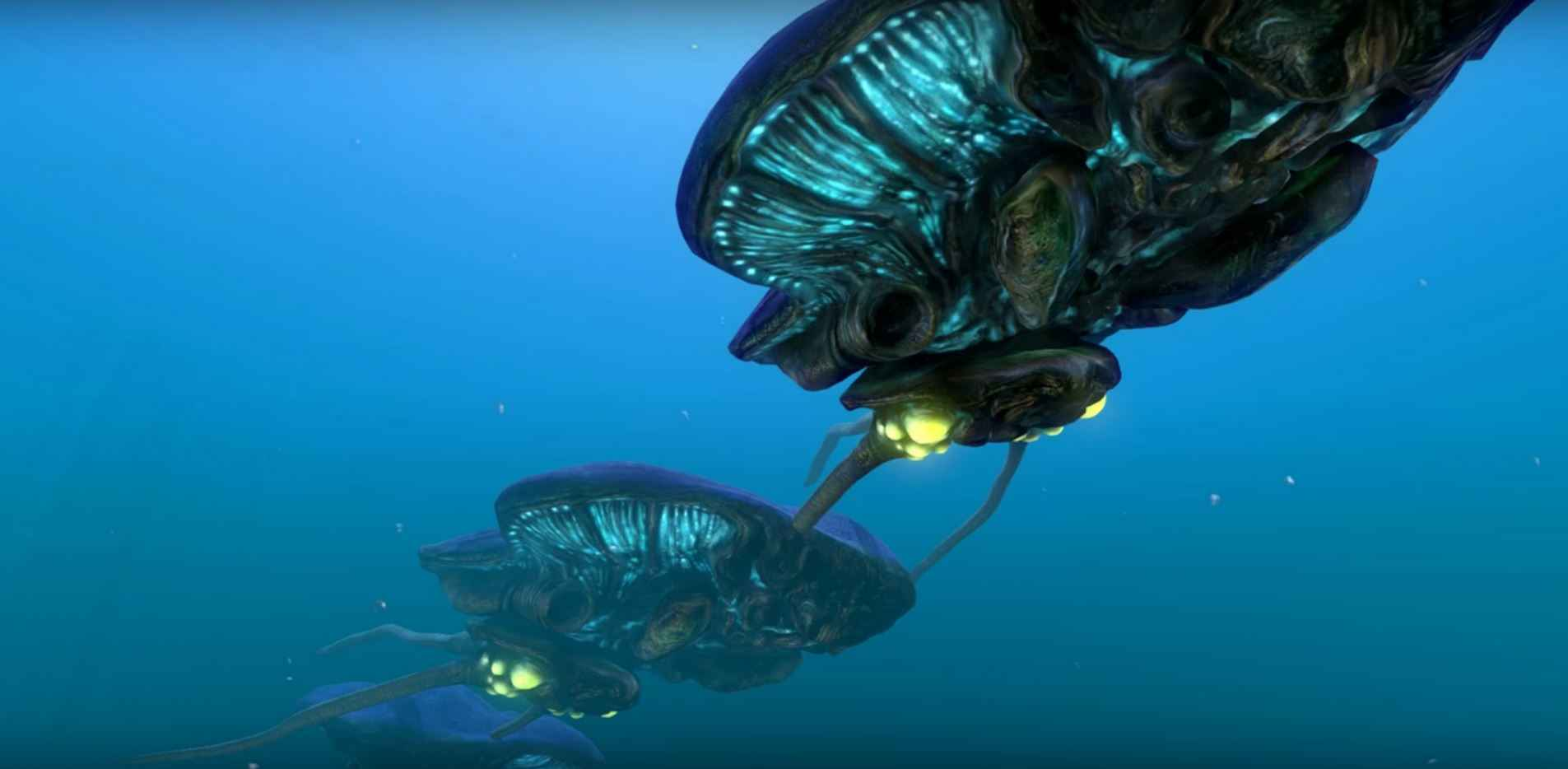 Subnautica All Leviathans - Reefback
