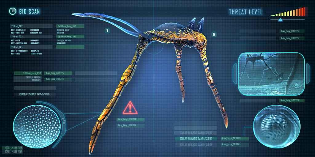 Subnautica All Leviathons - The Sea Treader looks very unique.