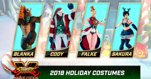 street fighter v holiday costumes 2018