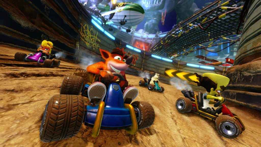 Crash Team Racing Nitro-Fueled Screenshots Look N. Sanely Good