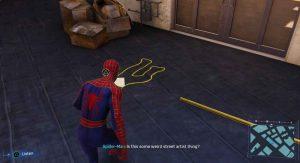 Spider-Man Crime Scene Recording 1