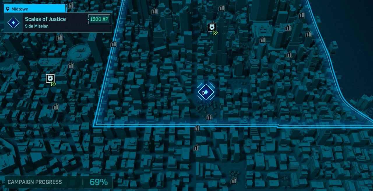 Spider-Man Crime Scene Recording Side Mission