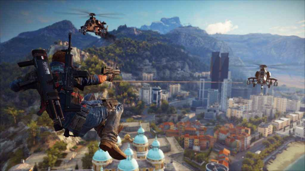 Just Cause 4 Fast Travel