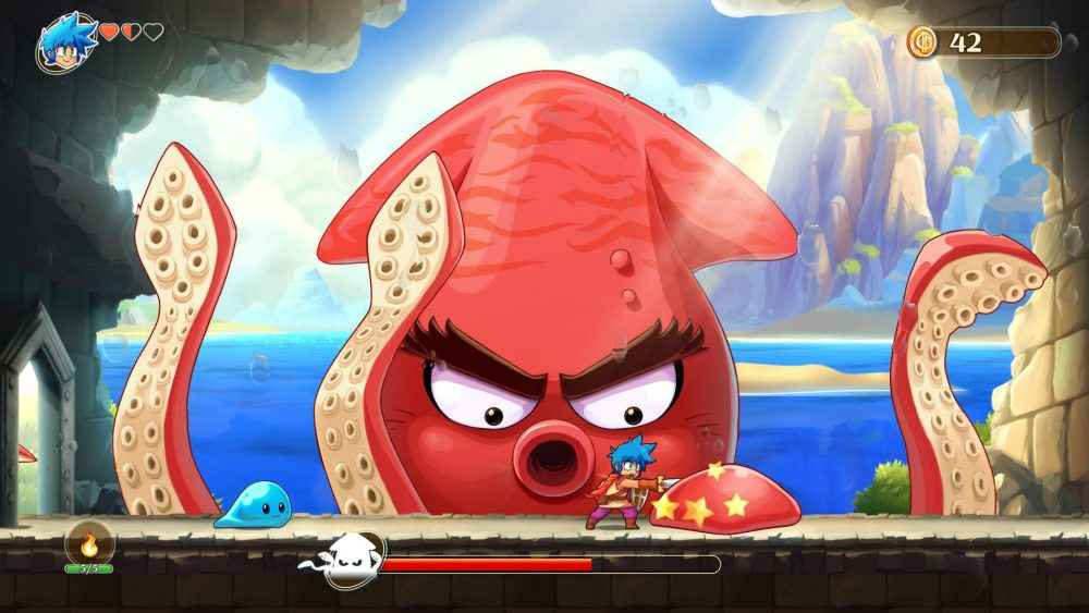 Monster Boy and the Cursed Kingdom review 01