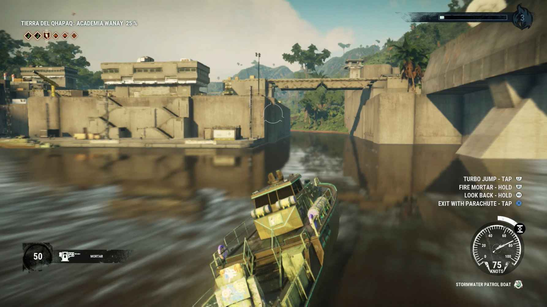 Just Cause 4 Review - Motion Blur is a big issue.