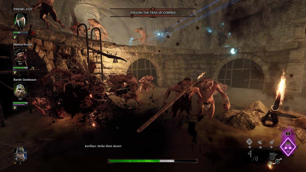 warhammer vermintide 2 review - ps4