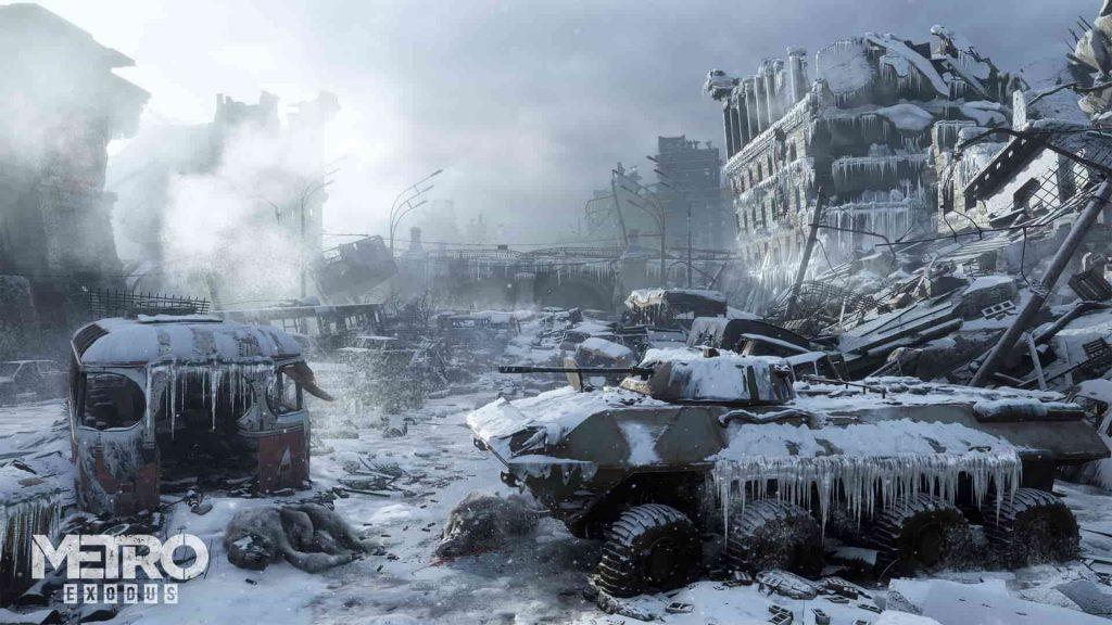 2019 PS4 Games Metro Exodus