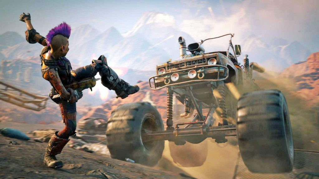 2019 PS4 Games Rage 2