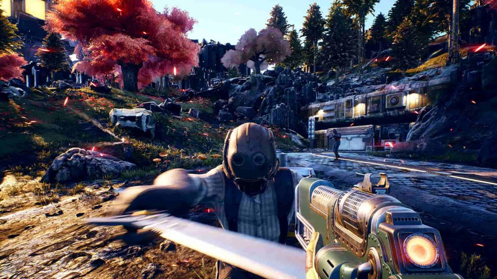 2019 PS4 Games The Outer Worlds