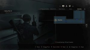 Resident Evil 2 Remake Inventory Pouch 6 Nap Room