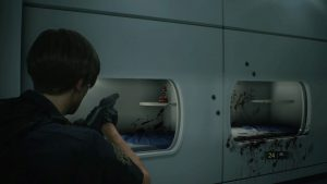 Resident Evil 2 Remake Raccoon Bobble Head 13 Nap Room