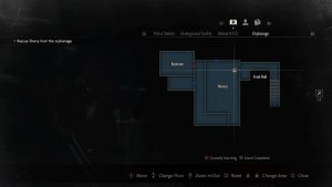 Resident Evil 2 Remake Raccoon Bobble Head 10 Nursery Map