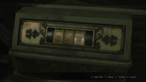 Resident Evil 2 Remake Lion Medallion Solution