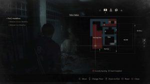 Resident Evil 2 Remake Maiden Medallion Map