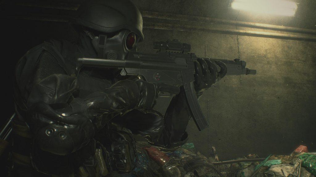 resident evil 2 remake screenshots