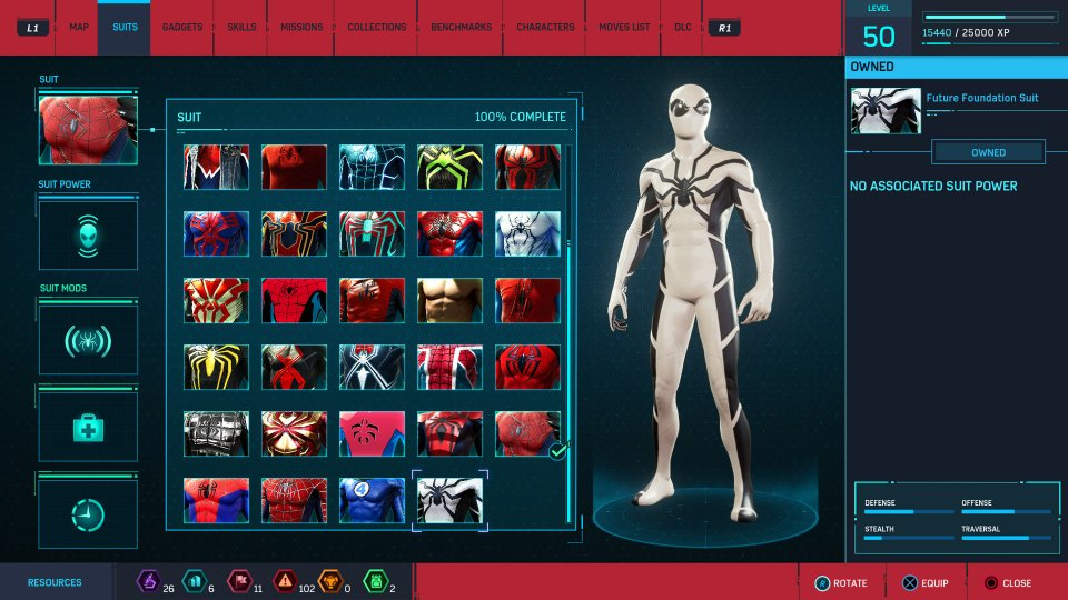 Marvel's Spider-Man Update 1.14 Adds Two New Suits
