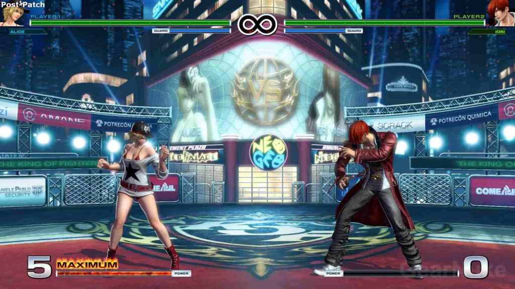 Best PS4 Fighting Games King of Fighters XIV