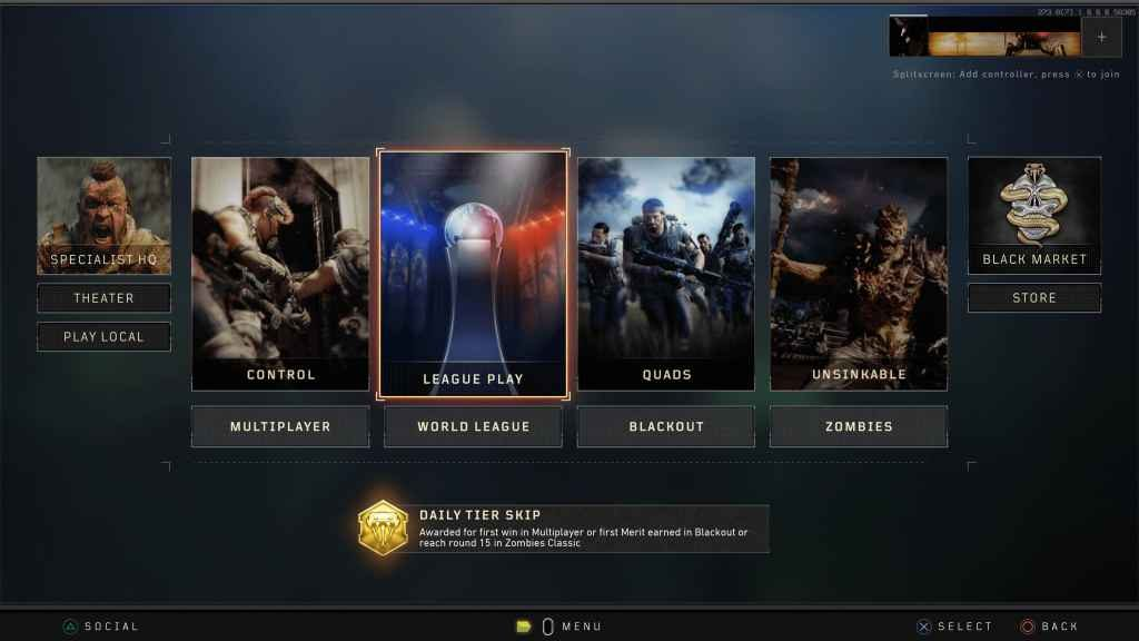 Call of Duty: Black Ops 4 League Play PS4 02