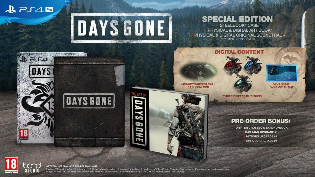 Days Gone PS4 Special