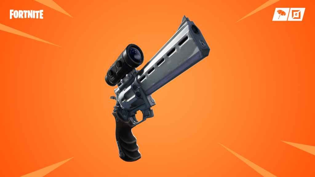 Fortnite Patch 7.20 PS4 - Scoped Revolver