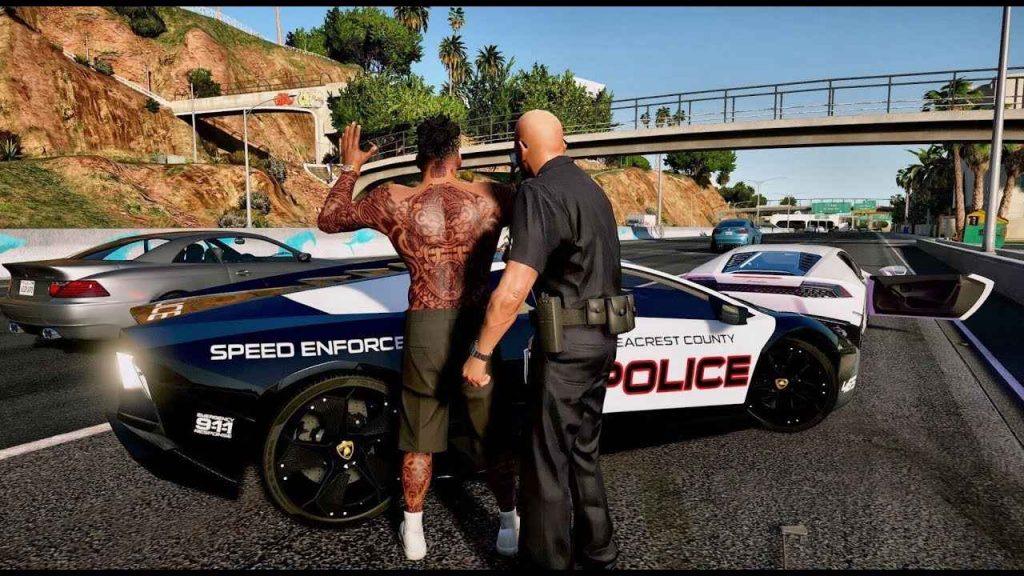 una screenshot da GTA5