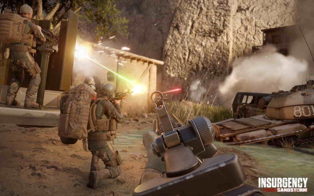 Insurgency Sandstorm PS4 Alpha