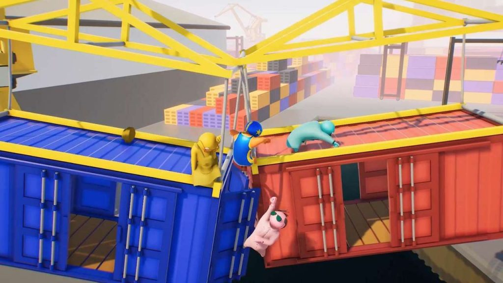 PS4 Couch Co-Op - Gang Beasts