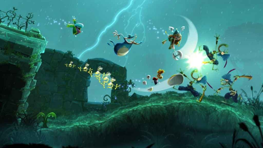 PS4 Couch Co-Op - Rayman Legends