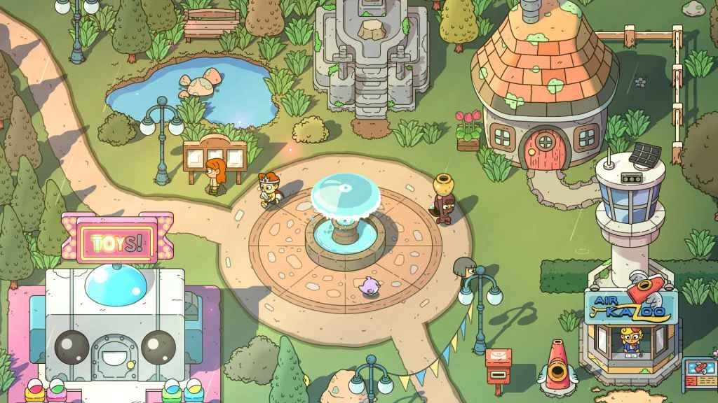 PS4 Couch Co-Op - The Swords of Ditto
