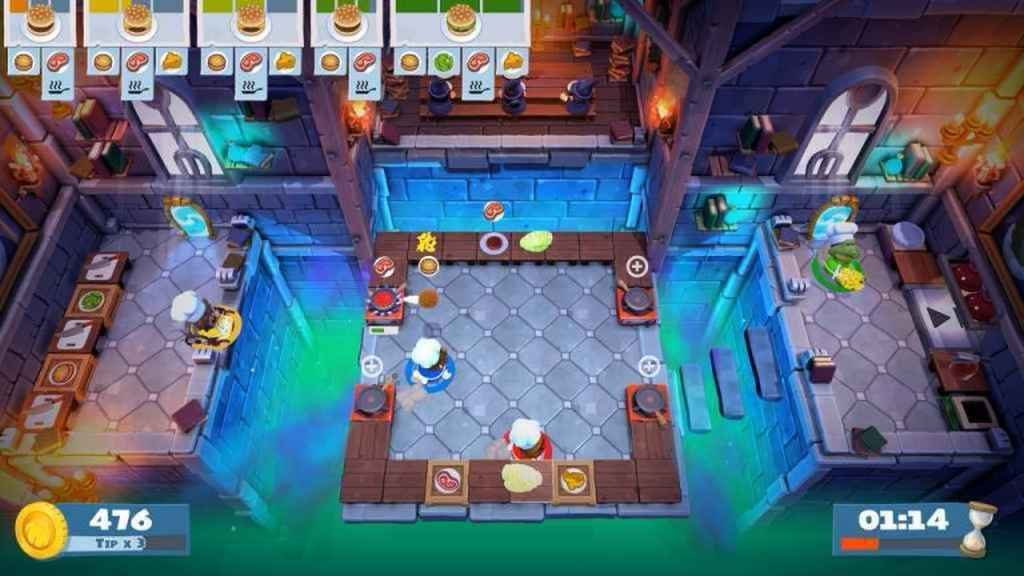 PS4 Split-Screen Multiplayer - Overcooked 2