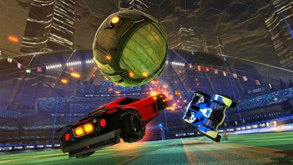 PS4 Split-Screen Multiplayer - Rocket League