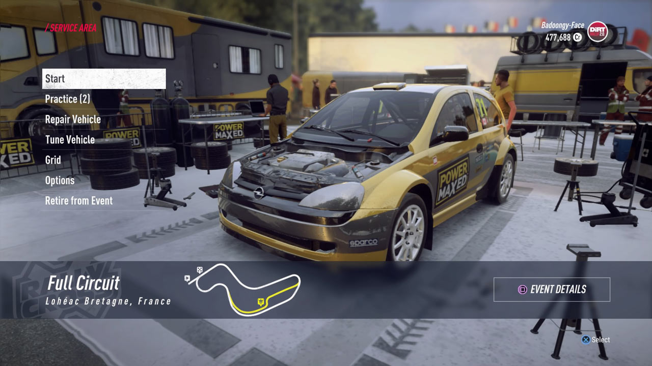 dirt rally 2 0 review ps4 playstation universe. Black Bedroom Furniture Sets. Home Design Ideas