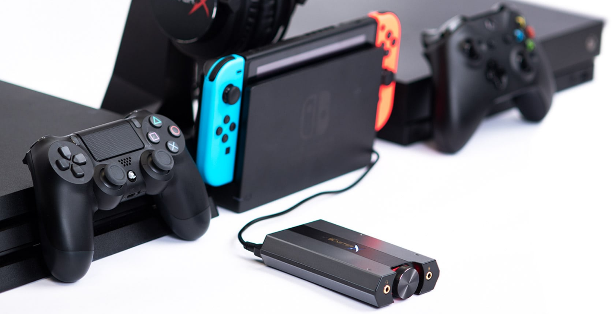 SoundBlasterX G6 Gaming Headphone Amp Review - PS4