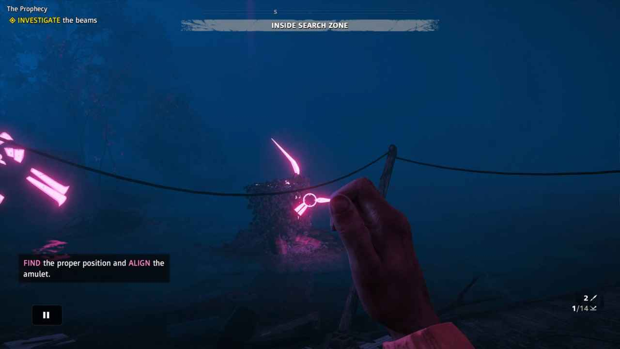 How To Align Amulet In The Prophecy Mission In Far Cry New Dawn Playstation Universe