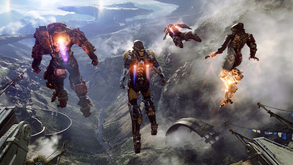 Anthem endgame video shows contracts, Strongholds, Cataclysms, more
