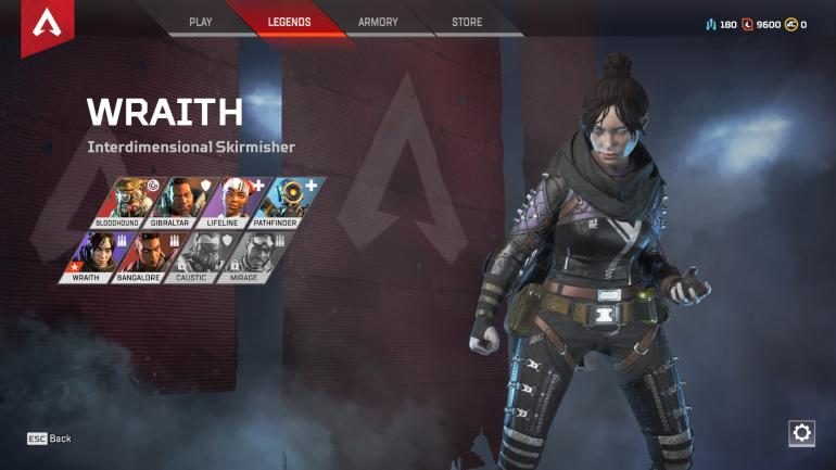 apex legends wraith guide