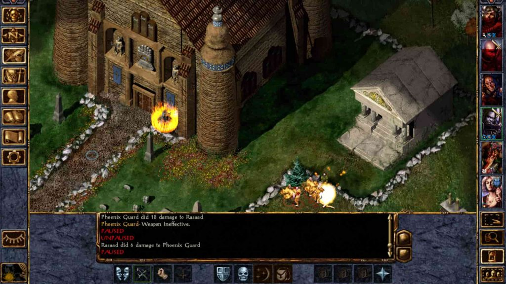 Baldur's Gate Screenshot PS4