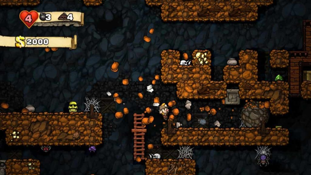 Best PS Vita Games Spelunky