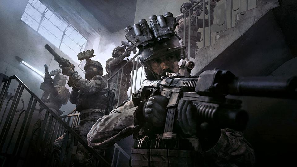 Best PS4 FPS Games Call of Duty Modern Warfare