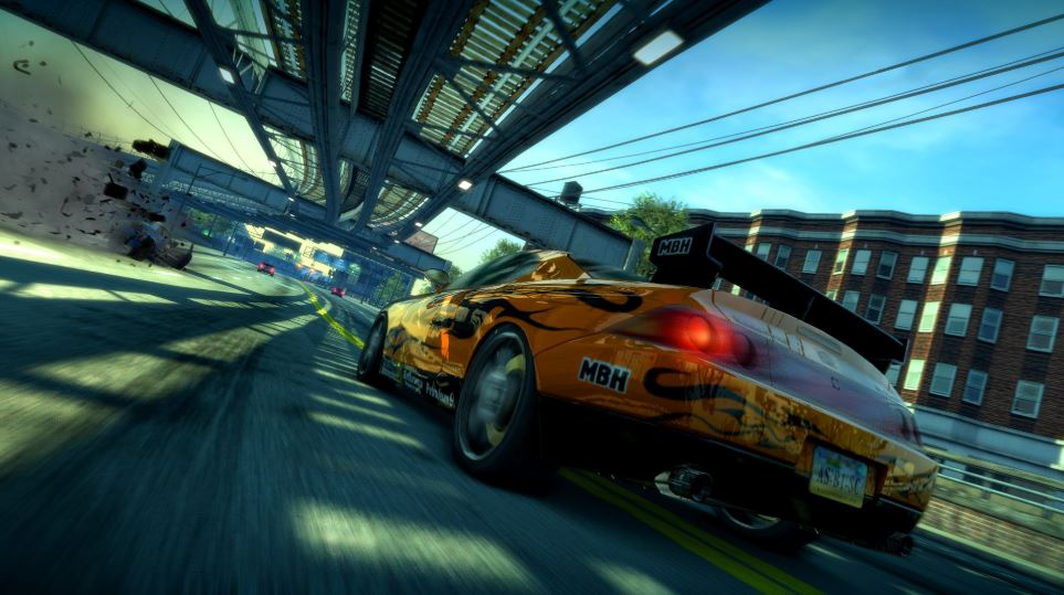best ps4 racing games burnout paradise remastered